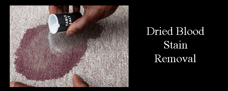 Dried Blood Stain Removal